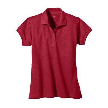 Genuine Dickies Girls School Uniform Short Sleeve Pique Polo (Big Girls)