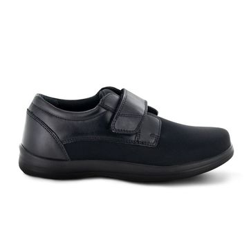 Apex Womens A3000WW10 Stretch Monk Leather Low Top Walking Shoes - 10