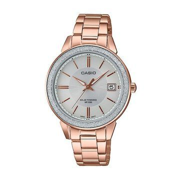 Casio Womens Rose Goldtone Stainless Steel Bracelet Watch-Ltps200pg-9av