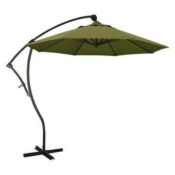 California Umbrella 9' Cantilever Umbrella in Palm