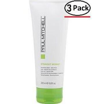 Paul Mitchell By Paul Mitchell Straight Works Straightens And Smoothes 6.8 Oz For Unisex (Package Of 3)