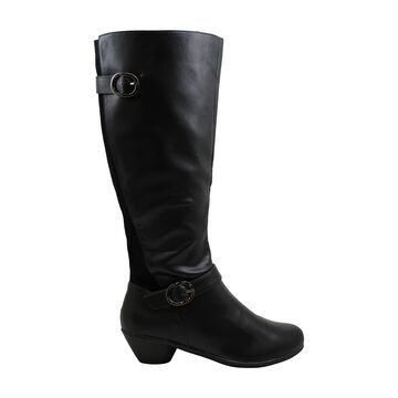 Karen Scott Womens Ulee Round Toe Mid-Calf Riding Boots