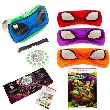 Mattel View Master Teenage Ninja Turtle Viewer & Ninja Turtle Experience Pack Bundle