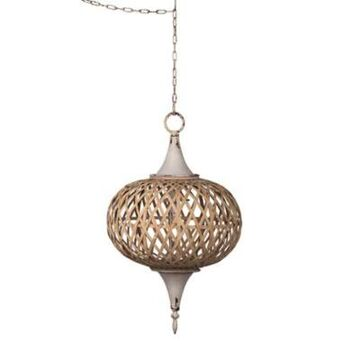 A&B Home Organic Elements Chandelier In Gold