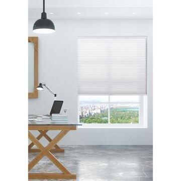 """Arlo Blinds Pure White Light Filtering Cordless Cellular Shades (31.5""""W x 84""""H)"""