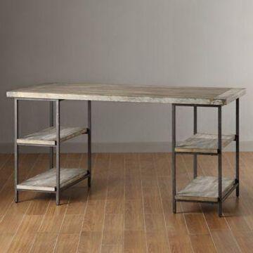 Madison Park Hunts Desk in Grey