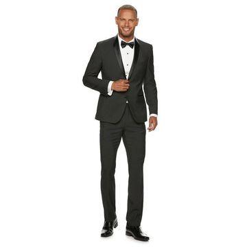 Men's Nick Graham Slim-Fit Black Pindot Tuxedo