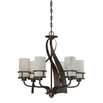 Quoizel Kyle 6-Light Chandelier in Iron