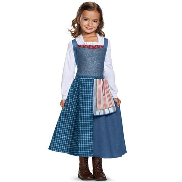 Disguise Belle Village Look Classic Toddler/Child Costume-3T-4T