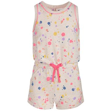 Big Girls Splatter-Print Romper, Created for Macy's