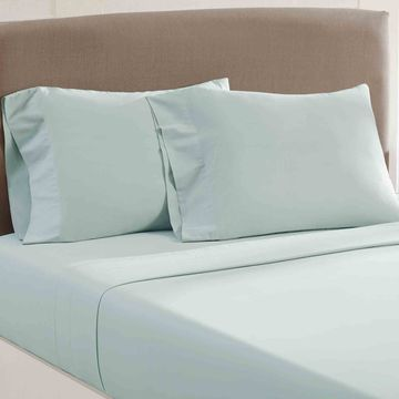 Amrapur Overseas Vintage Washed Cotton 4-Piece Sheet Set