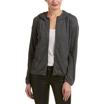 The Kooples Womens Sport Hooded Sweatshirt