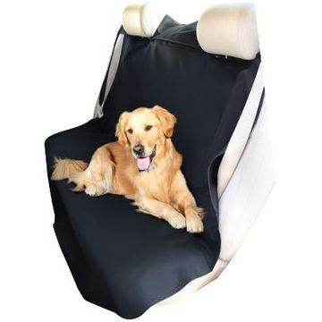 Coverking Seat Shield Canvas Seat Covers in Black, Rear Seat Cover