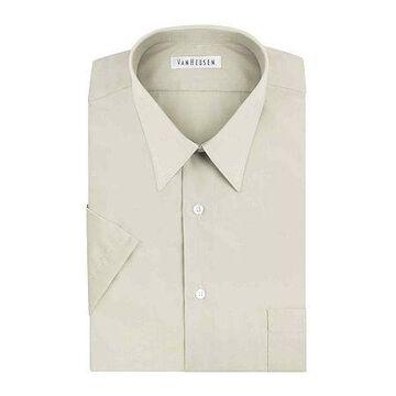 Van Heusen Short-Sleeve Poplin Dress Shirt