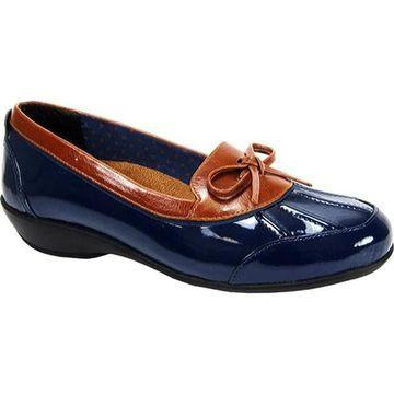 Beacon Shoes Women's Rainy Navy Patent
