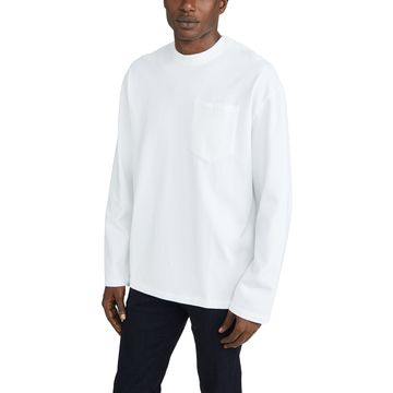 Maison Kitsune Long Sleeve Oversized Tee Shirt