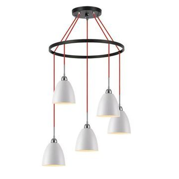 Woodbridge Lighting Vento 5-Light Pendant Chandelier
