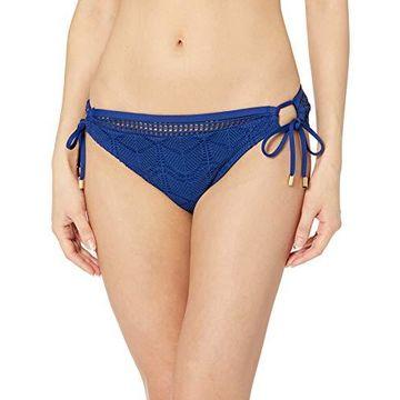 La Blanca Women's Side Tie Hipster Bikini