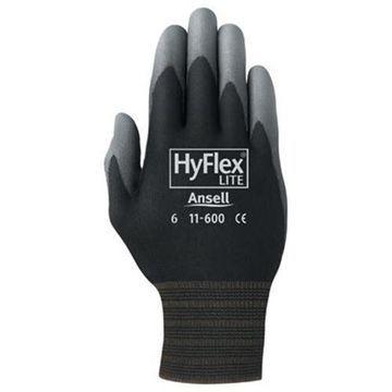 Ansell 012-11-600-9-BK 205653 9 Hyflex Ultra Lightweight Assembly Glove