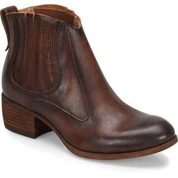 Sofft Womens Cellina Leather Almond Toe Ankle Chelsea Boots