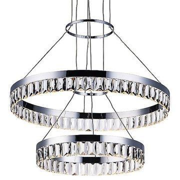 Icycle 2-Tier LED Pendant by Maxim Lighting