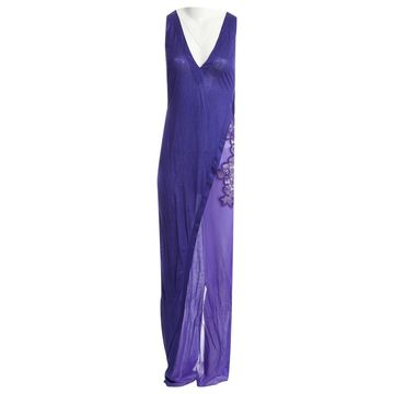 La Perla Purple Silk Dresses