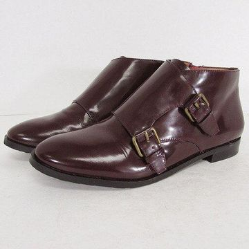 Gentle Souls Womens 'Canary XL' Monk Strap Ankle Booties