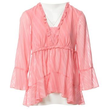 Patrizia Pepe Pink Polyester Tops