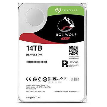 Seagate IronWolf Pro ST14000NE0008 14 TB Hard Drive - 512e Format - SATA