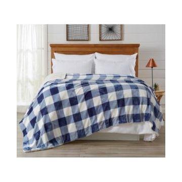 Home Fashions Designs Berber Velvet Plush Luxury King Bed Blanket Bedding