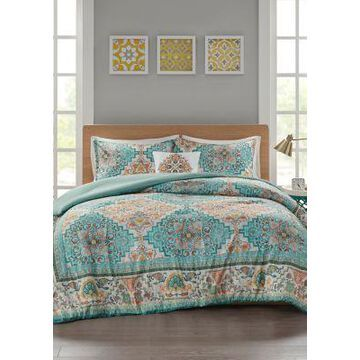 Jla Home Deliah Comforter Set - -