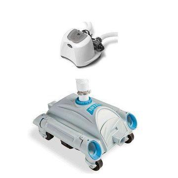 Intex Krystal Clear Saltwater Pool Chlorinator and Intex Automatic Pool Vacuum