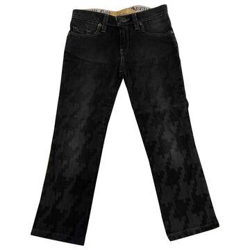 John Galliano \N Black Denim - Jeans Trousers