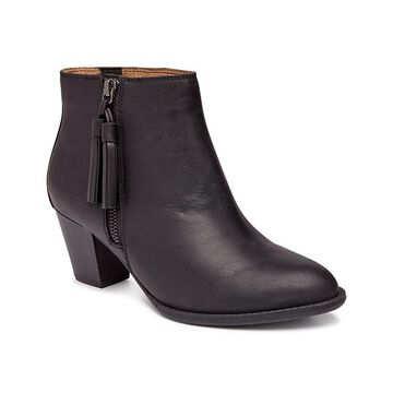 Vionic Women's Casual boots BLK - Black Madeline Leather Boot - Women