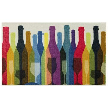 Mohawk Home Colorful Bottles Rug, Multicolor, 30X50