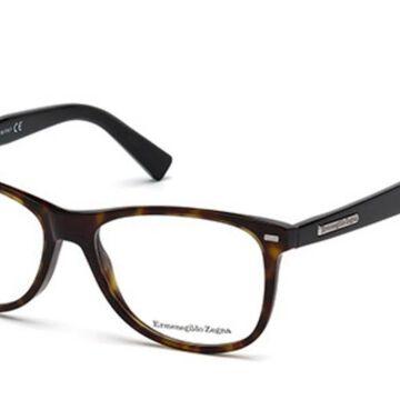 Ermenegildo Zegna EZ5055 056 Men's Glasses Tortoiseshell Size 54 - Free Lenses - HSA/FSA Insurance - Blue Light Block Available