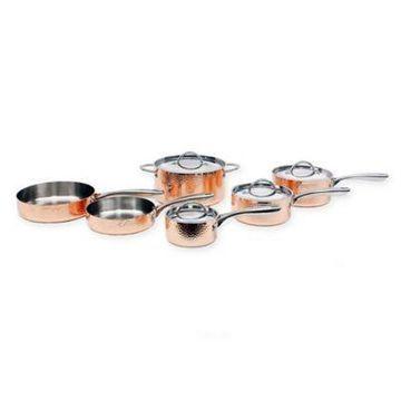 BergHOFF Vintage Hammered Copper 10-Piece Cookware Set