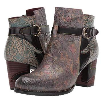 L'Artiste by Spring Step Tallulah (Black Multi) Women's Boots