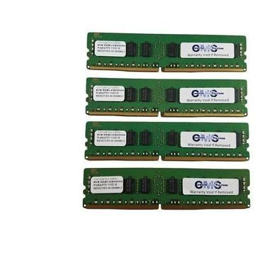64Gb (4X16Gb) Memory Ram Compatible With Dell Poweredge R630 Ddr4 Ecc Register By CMS