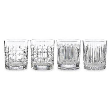 4-Piece Reed & Barton Vintage Style Double Old Fashioned Glass Set