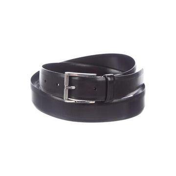 Leather Buckle Belt black