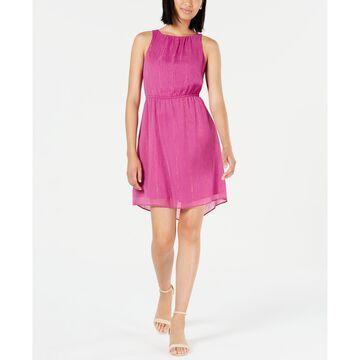 Metallic Chiffon Dress, Created for Macy's