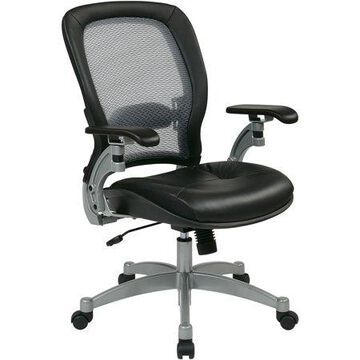 Office Star, OSP3680, Space 3000 Professional Air Grid Back Managerial Mid-Back Chair, 1 Each, Black