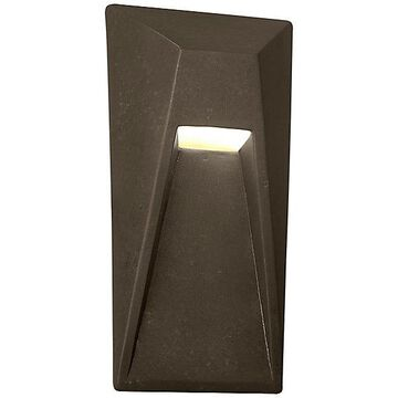 Justice Design Group Ambiance Vertice LED Wall Sconce - Color: Brass - CER-5680-HMBR