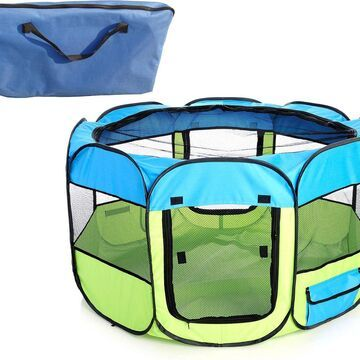 Pet Life All-Terrain Wire-Framed Collapsible Travel Dog Playpen