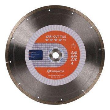 Husqvarna 10 in. Dia. Vari-Tile Diamond Saw Blade 1 pk