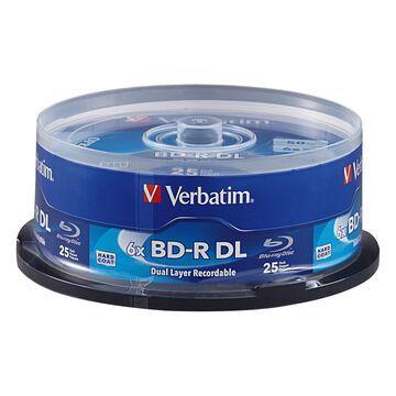Verbatim 98356 Bd R Dl 50gb 6x 25pk Spindle