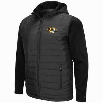 Mens NCAA Missouri Tigers Everest Full Zip Jacket