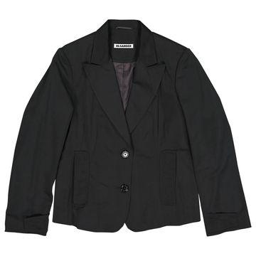 Jil Sander Black Polyester Jackets