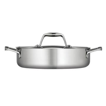 Tramontina Gourmet Tri-Ply Clad Stainless Steel 3-qt. Braiser